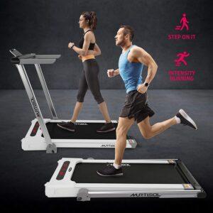 Murtisol 2.25HP Folding 2 in 1 Treadmill