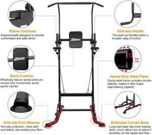 UBOWAY Power Tower -Pull Up Bar Stand