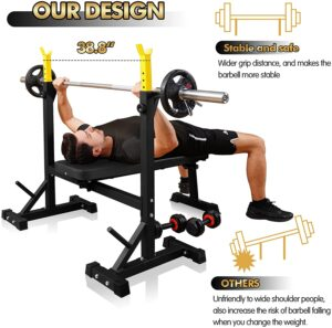 CANPA Olympic Weight Bench Press
